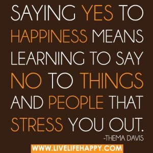 saying yes to god less stress